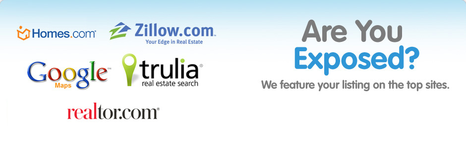 We feature your property listings on the top sites